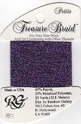 Rainbow Gallery Petite Treasure Braid PB11 Purple THUMBNAIL