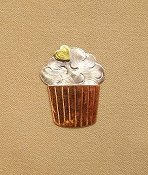 Puffin & Company Magnetic Needle Nanny - Cupcake