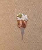 Puffin & Company Needle Threader - Cupcake