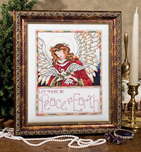 Custom Frame - Peace Angel