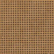 Perforated Paper 14ct Antique Brown THUMBNAIL
