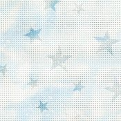 Perforated Paper 14ct Star Light Blue THUMBNAIL