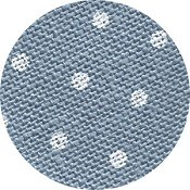 Belfast Linen 32ct Petit Point - Blue w/ White Dots THUMBNAIL