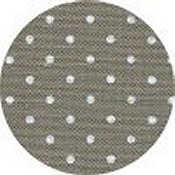Belfast Linen 32ct Petit Point - Dark Cobblestone w/ White Dots