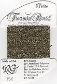 Rainbow Gallery Petite Treasure Braid PB30 Black Gold THUMBNAIL