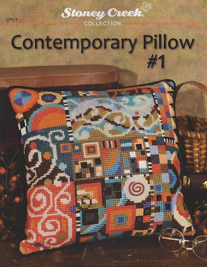Contemporary Pillow #1 THUMBNAIL
