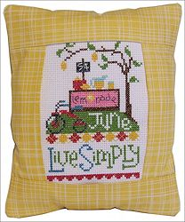 Pine Mountain Designs - Rectangle Pillow - June Live Simply_MAIN