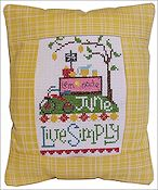 Pine Mountain Designs - Rectangle Pillow - June Live Simply THUMBNAIL