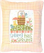 Pine Mountain Designs - Rectangle Pillow - April Spring Has Sprung THUMBNAIL
