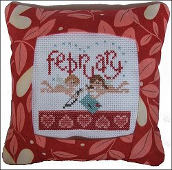 Pine Mountain Designs - Small Pillow Kit - February MAIN