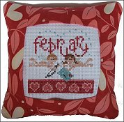 Pine Mountain Designs - Small Pillow Kit - February THUMBNAIL