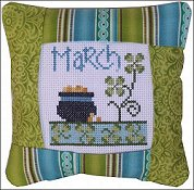 Pine Mountain Designs - Small Pillow Kit - March THUMBNAIL