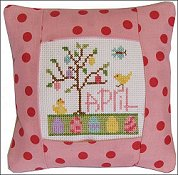 Pine Mountain Designs - Small Pillow Kit - April THUMBNAIL