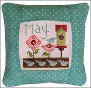 Pine Mountain Designs - Small Pillow Kit - May THUMBNAIL