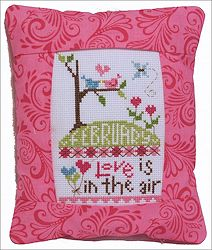 Pine Mountain Designs - Rectangle Pillow - February Love Is In The Air MAIN