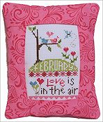 Pine Mountain Designs - Rectangle Pillow - February Love Is In The Air THUMBNAIL