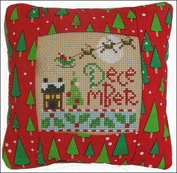 Pine Mountain Designs - Small Pillow Kit - December MAIN