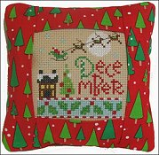 Pine Mountain Designs - Small Pillow Kit - December THUMBNAIL