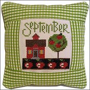 Pine Mountain Designs - Small Pillow Kit - September THUMBNAIL