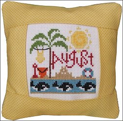 Pine Mountain Designs - Small Pillow Kit - August_MAIN