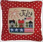 Pine Mountain Designs - Small Pillow Kit - July THUMBNAIL
