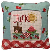 Pine Mountain Designs - Small Pillow Kit - June THUMBNAIL