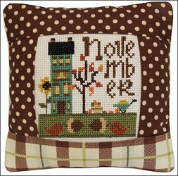 Pine Mountain Designs - Small Pillow Kit - November MAIN