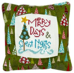 Pine Mountain Designs - Small Pillow Kit - Merry Days MAIN