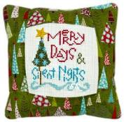 Pine Mountain Designs - Small Pillow Kit - Merry Days THUMBNAIL