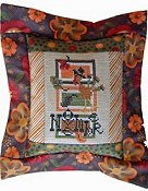 Pine Mountain Designs - Flange Pillow Kit - November Is For The Birds