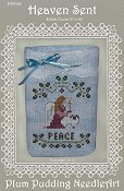 Plum Pudding Needleart - Heaven Sent