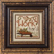 "October 2010 Pattern of the Month ""Work Hard"""