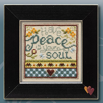 "February 2019 Pattern of the Month ""Have Peace In Your Soul"" THUMBNAIL"