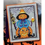 "April 2019 Pattern of the Month ""Trick~Treat"" THUMBNAIL"