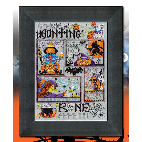 Custom Frame - Happy Haunting Sampler THUMBNAIL