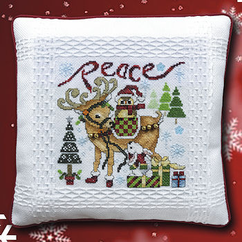 "October 2019 Pattern of the Month ""Christmas Critters ~ Peace"" MAIN"