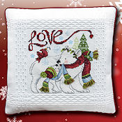 "November 2019 Pattern of the Month ""Christmas Critters ~ Love"" THUMBNAIL"