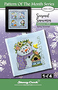 "September 2020 Pattern of the Month ""Spring Snowman"" THUMBNAIL"