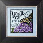 "January 2016 Pattern of the Month ""Laugh ~ Eastern Tiger Swallowtail"" THUMBNAIL"