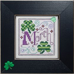 "December 2011 Pattern of the Month ""March Clovers"" MAIN"