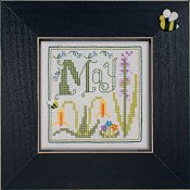 "February 2012 Pattern of the Month ""May Flowers"""