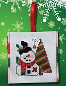 "September 2016 Pattern of the Month ""Jolly Snowman"" THUMBNAIL"