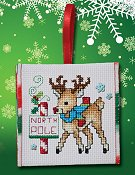 "October 2016 Pattern of the Month ""Red Nose Reindeer"""