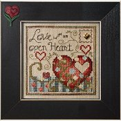"February 2013 Pattern of the Month ""Love With an Open Heart"""