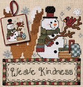 "April 2013 Pattern of the Month ""Weave Kindness"""