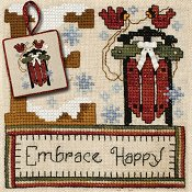 "May 2013 Pattern of the Month ""Embrace Happy"" THUMBNAIL"