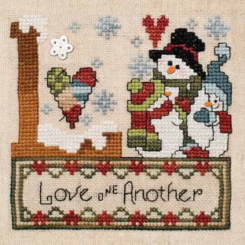 "June 2013 Pattern of the Month ""Love One Another"""