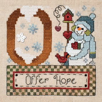 "August 2013 Pattern of the Month ""Offer Hope"""