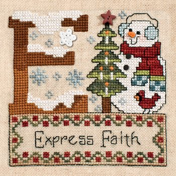 "October 2013 Pattern of the Month ""Express Faith"""