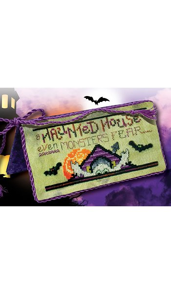 "July 2017 Pattern of the Month ""Haunted House"""